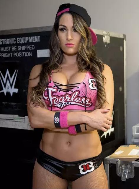 Stephanie Nikki Bella sexy hot WWE