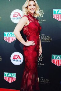 Amy Duggan sports beauty