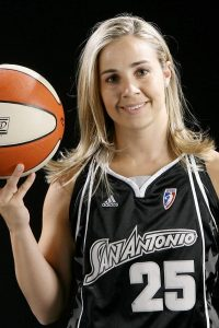 Becky Hammon basket stuff