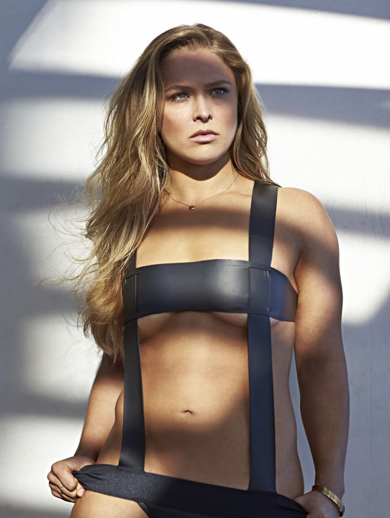 Ronda Rousey sexiest mma fighter