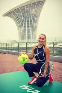 Elena Vesnina hot tennis
