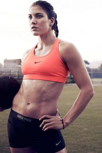 Hope Solo hot sport