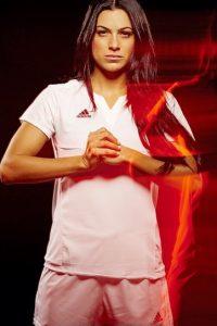 Jonelle Filigno football girl