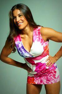 Julianna Pena hot dress