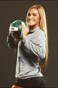 Kayla Simmons volleyball