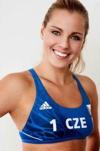 Marketa Slukova volleyball