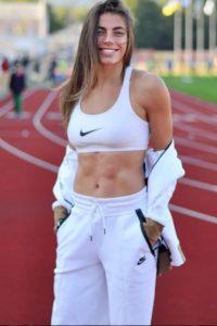 Maryna Bekh athlete