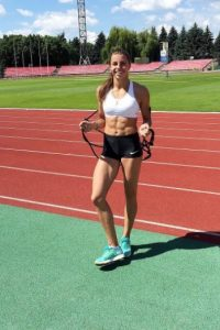 Maryna Bekh beauty athlete