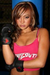 Michelle Waterson boxing