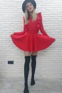 Natalia Malykh dress