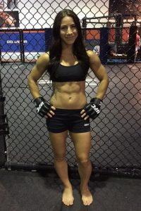 Tecia Torres MMA girl