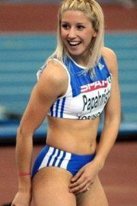 Voula Papachristou olympics girl