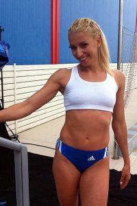 Voula Papachristou hot athlete