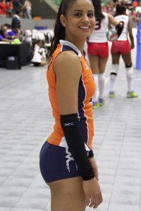 Winifer Fernandez volleyball