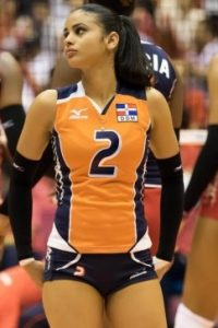 Winifer Fernandez volleyball girl