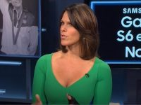 Dana Jacobson sexy hot showing cleavage