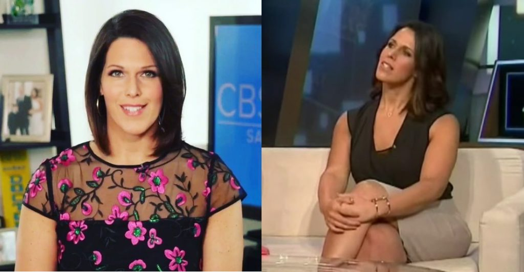 Dana Jacobson tits and legs