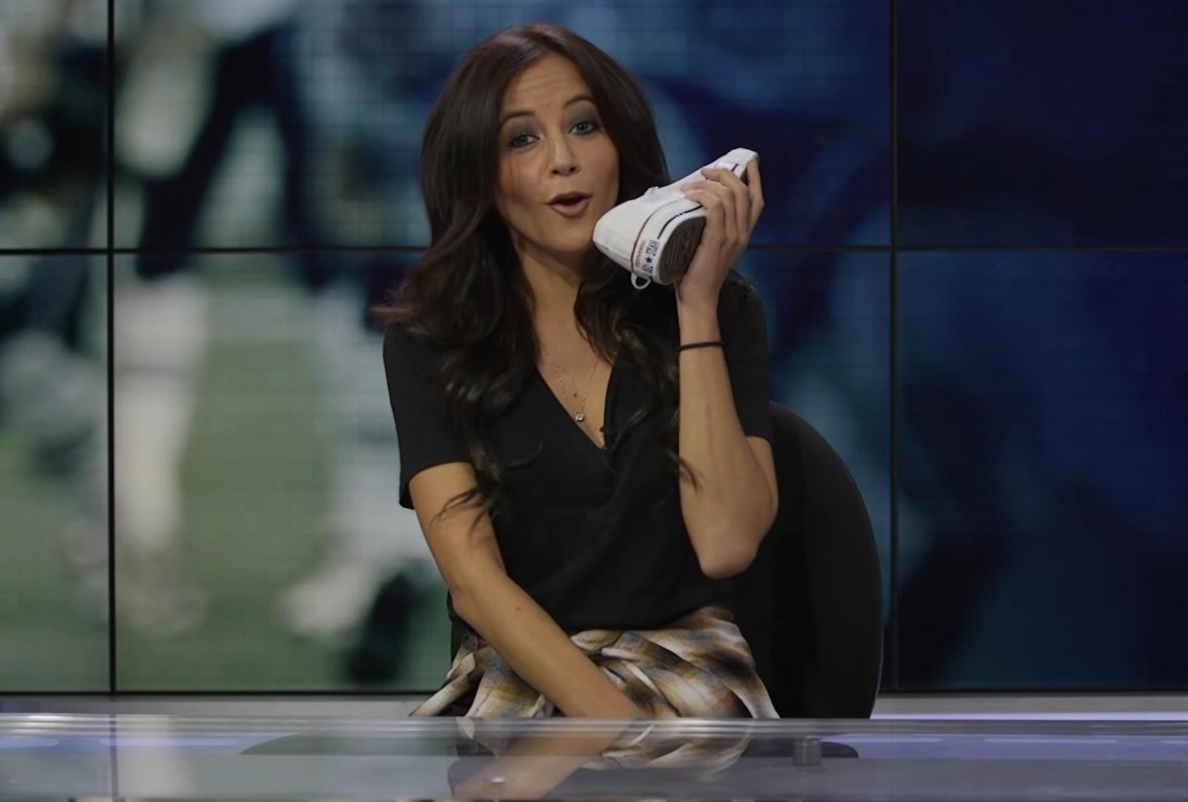 Kay Adams sexy and hot TV anchor
